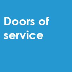 Doors of service